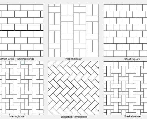 Tile Backsplash Patterns