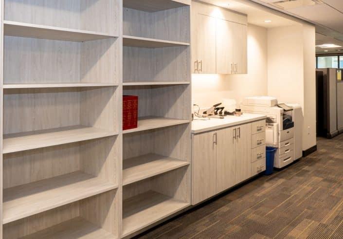 commercial shelves